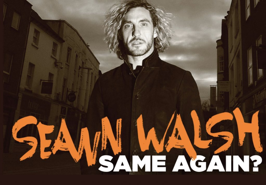 See if I'm coming to a town near you. seannwalsh.com/gigs/
