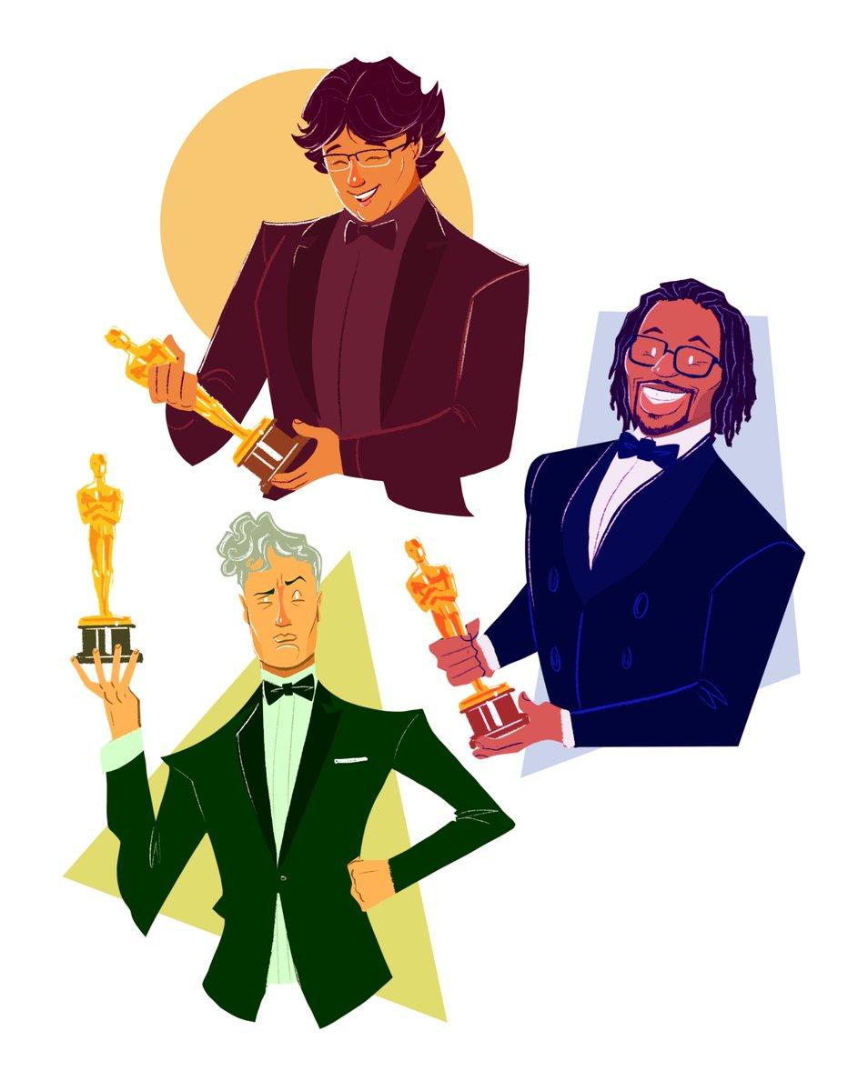 Feeling Scene.  #Oscars2019    @MatthewACherry @TaikaWaititi #BongJoonHo pic.twitter.com/pnPXlhp3Nn