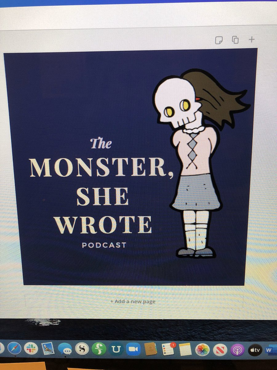 It's aliiiiiiiive! Well, almost. I'm launching a new podcast. Follow us on Instagram and Twitter @monsterwrote and get a sneak peek on Spotify, Stitcher, and PodBean #womeninhorror #wihm #promotehorror #monstershewrote #podcast #booklovers #FilmTwitter<br>http://pic.twitter.com/ucLCfWqE6p