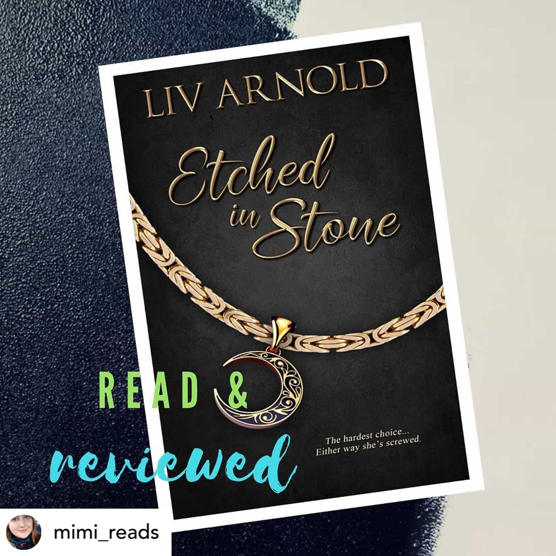 'Etched in Stone by Liv Arnold is a fast paced insta love romance with plenty of PDA. Adventurous and steamy interactions are prominent in their relationship and a mutual love of 'dad jokes' had me laughing out loud throughout the book.' #romancebooks #romancereader #romance