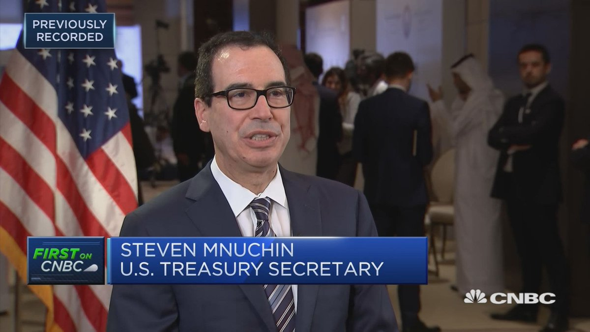 More attention (Media/Congressional) needs to be on Steven Mnuchin:  1. Mnuchin Is stopping the Deutsche Bank money laundering investigation w/Mary Daly 2. Mnuchin is keeping Trump's tax returns secret for 3 years now!  3. Mnuchin personally approved Biden financial disclosures