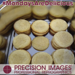 #MondaysAreDelicious, even on Wednesdays!!!! Sometimes, there's just too many exciting things going on here to be able to get the pictures out on the day. So here are #ChefDavid's amazing Lemon Sugar Cookies! Mmmm sugar! #cookies #homemade #BestJobEver #ChefDavid #PrecisionImages