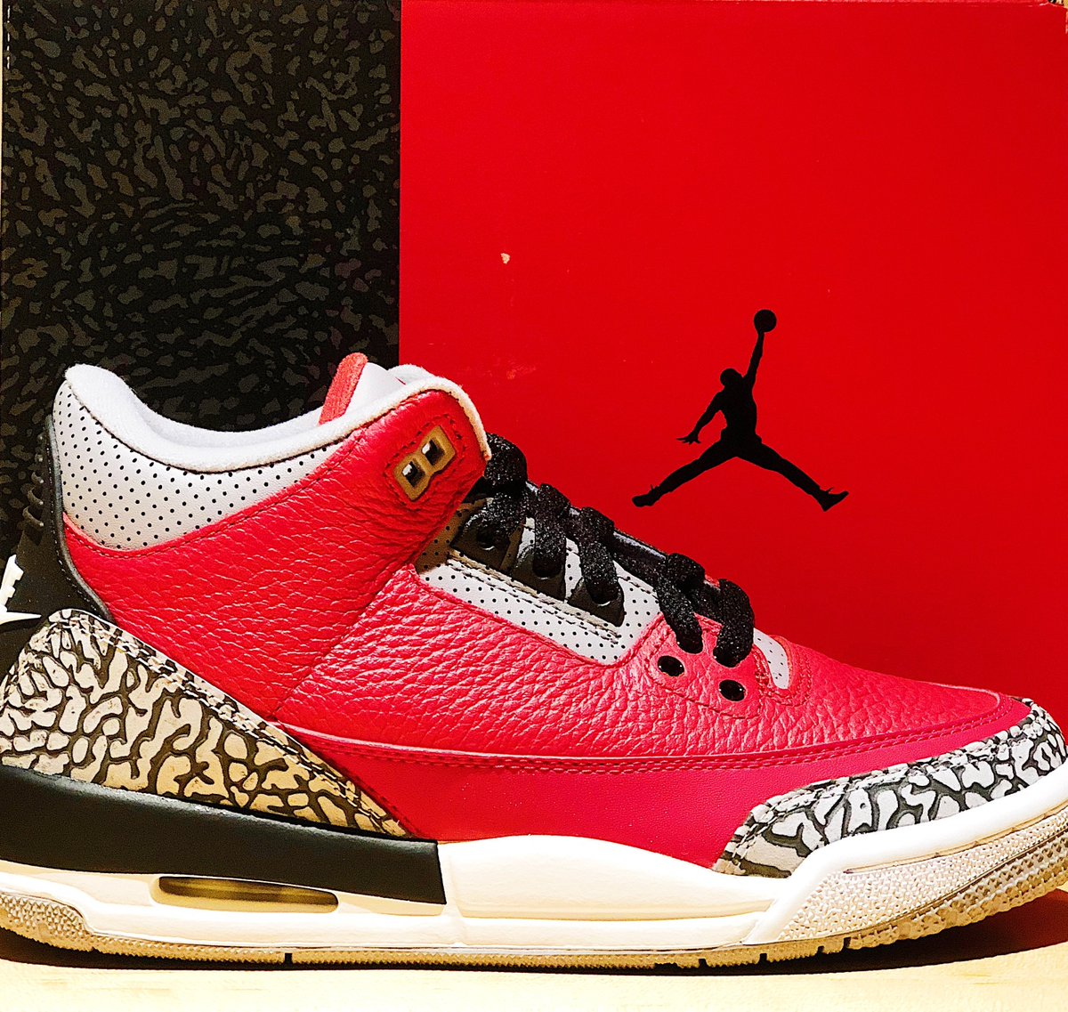 Jordan AJ 3 Retro release @nbastore NYC Saturday, February 15th. [Youth only]