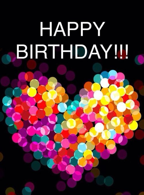HAPPY BIRTHDAY !! Have fun to the fullest and be happy Many kisses