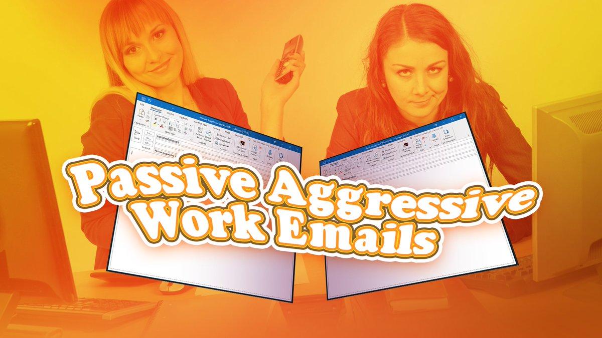 @dailyblastlive's photo on passive aggressive work email
