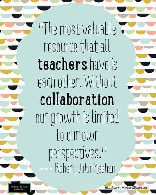 We are better together! 🍎 #teachergoals