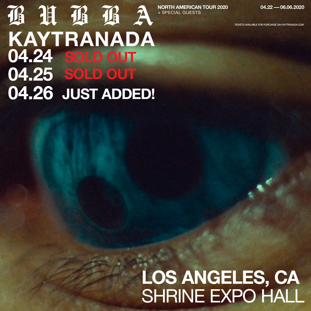 Anotha one *mic drop* 🎤@kaytranada Tix on sale Friday at 10am