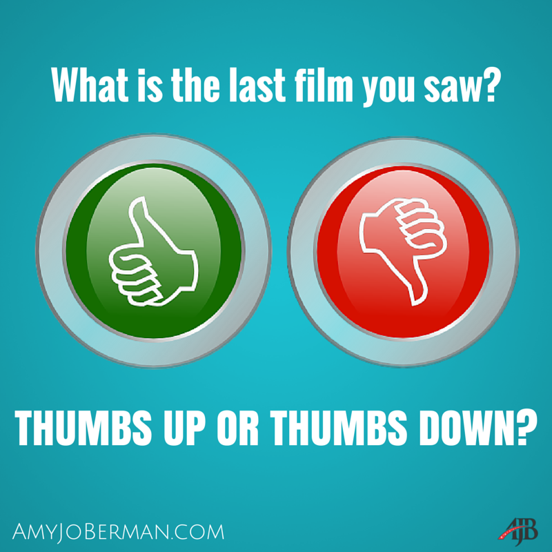 What was the last #film you saw? Thumbs up or thumbs down? #actorslife #movies #Oscarspic.twitter.com/XoXsDIchN1