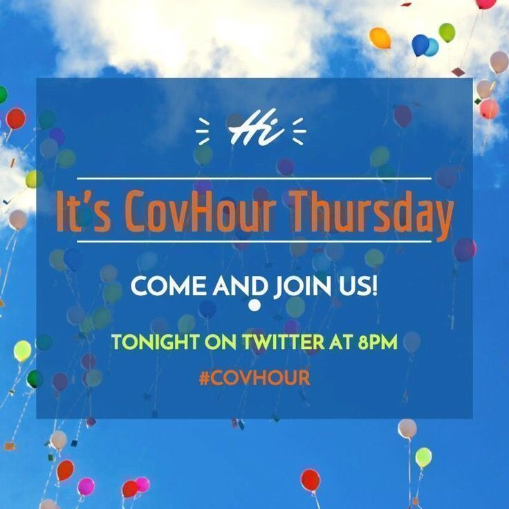 Who is joining #Covhour this evening 8-9pm? #Coventry #ThisIsCoventry #CovBid