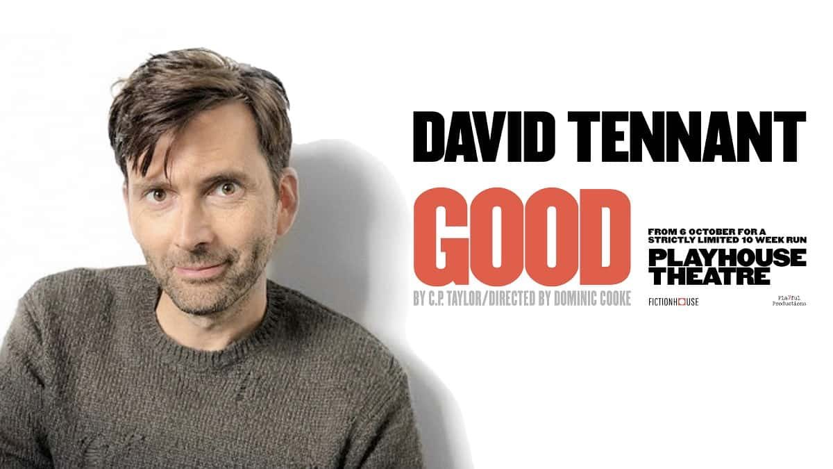 Photo of David Tennant to promote Good