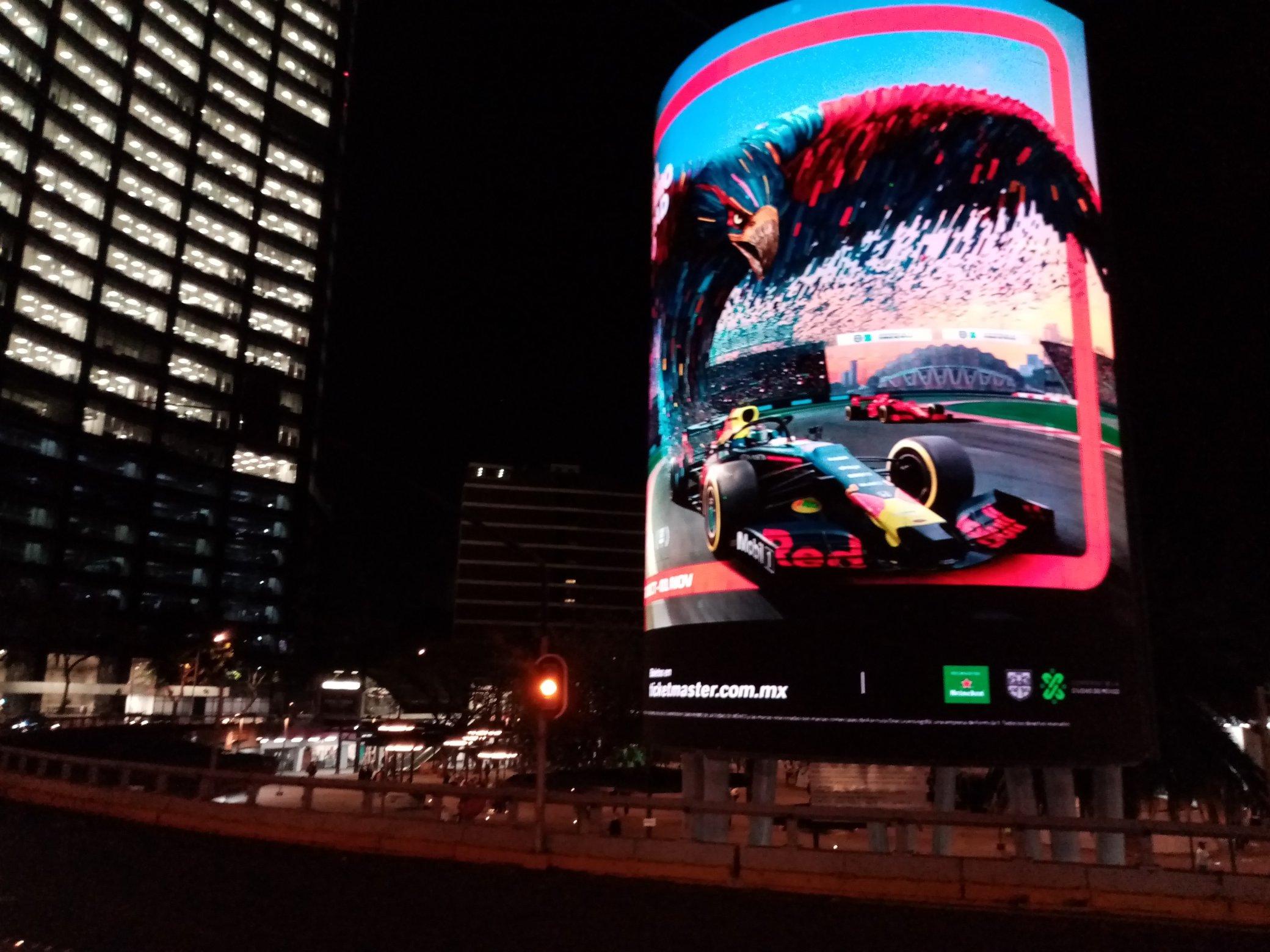 Resultado de imagen de La F1 revela carteles del Gran Premio de México 2020