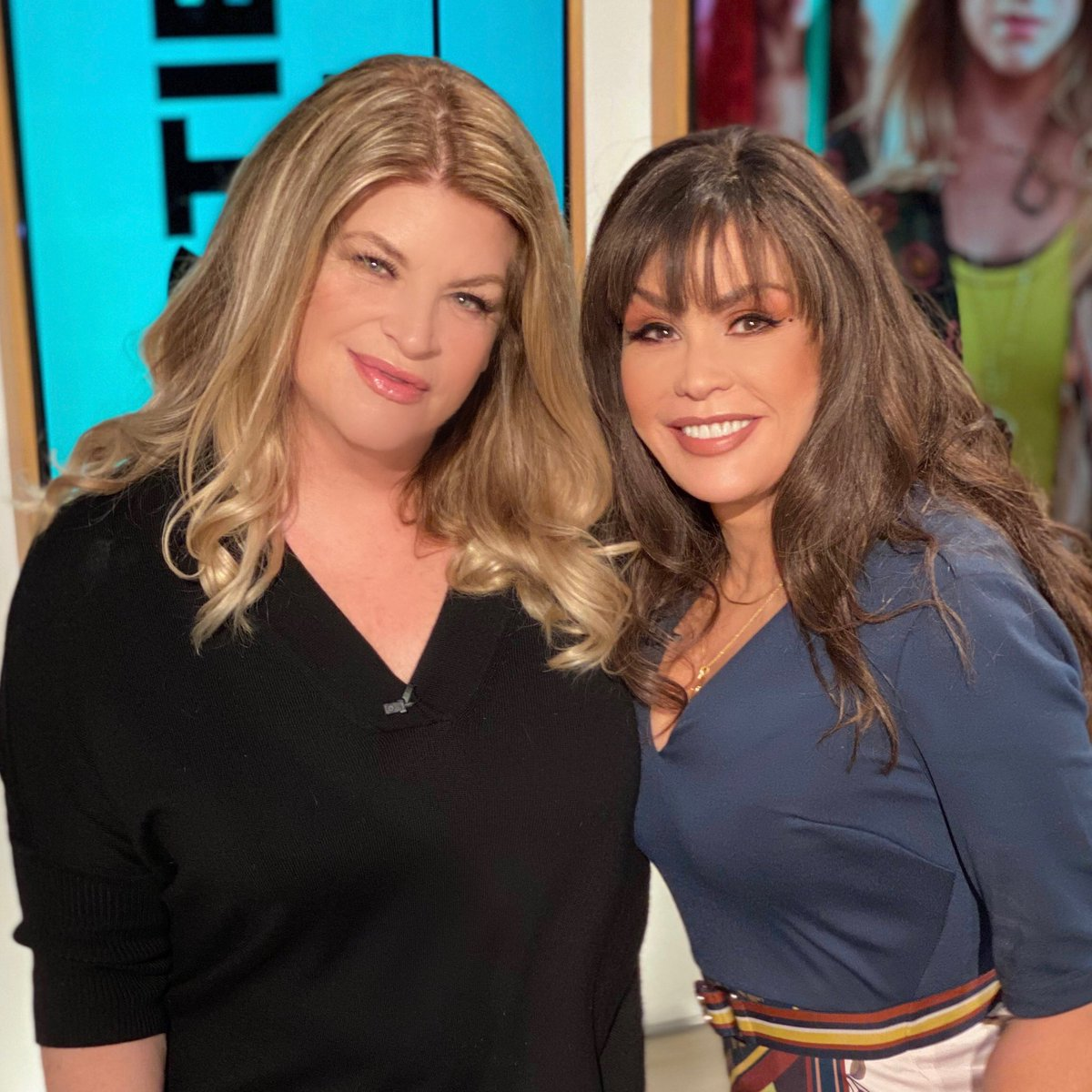 Marie Osmond On Twitter So Great To See You Again Kirstiealley Come Back Soon We Love You To Pieces Here At Thetalk