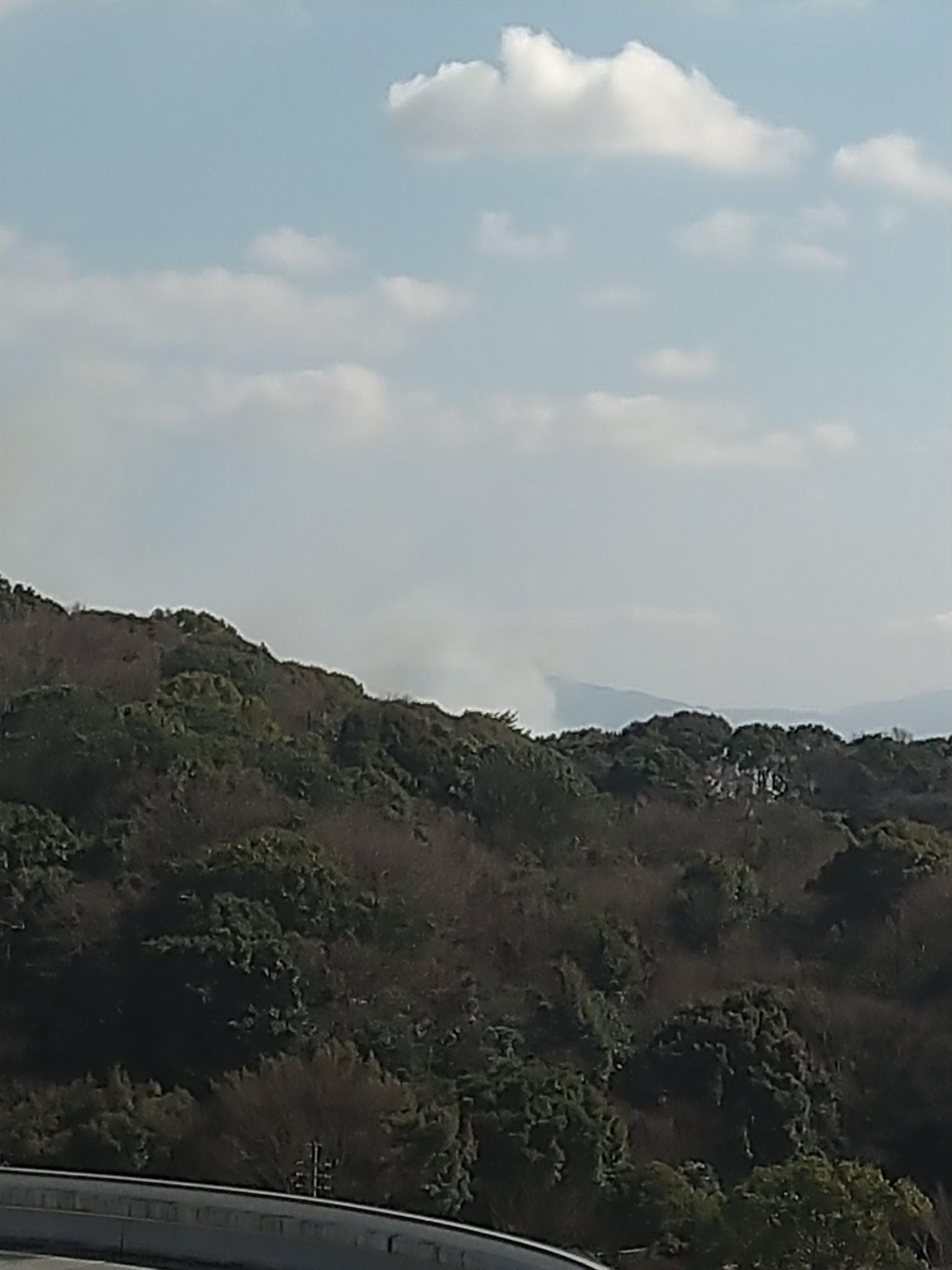 画像,こちらからも火事を視認できた https://t.co/zh72mt3IO1。