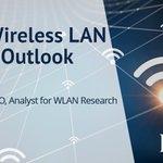 Image for the Tweet beginning: 2020 Wireless LAN Market Outlook.