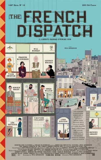 The French Dispatch Wes Anderson dedica un film al giornalismo - - #French #Dispatch #Anderson #dedica