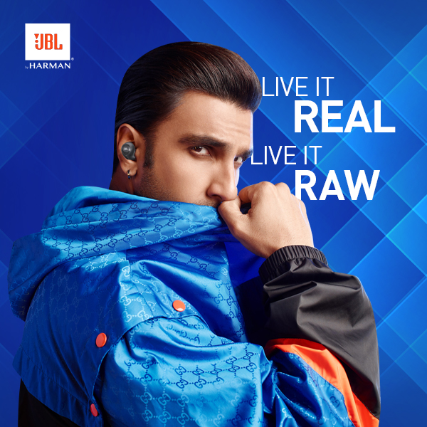 'Live it Real, Live it Raw' @JBLSoundIn debuts brand film featuring rockstar-in-chief  @RanveerOfficial! With inspiring rap vocals by the superstar himself, the film showcases the power of staying authentic and daring to take the world head on! Watch now- https://t.co/7PfrSOaUCJ https://t.co/TLmIweaSbR
