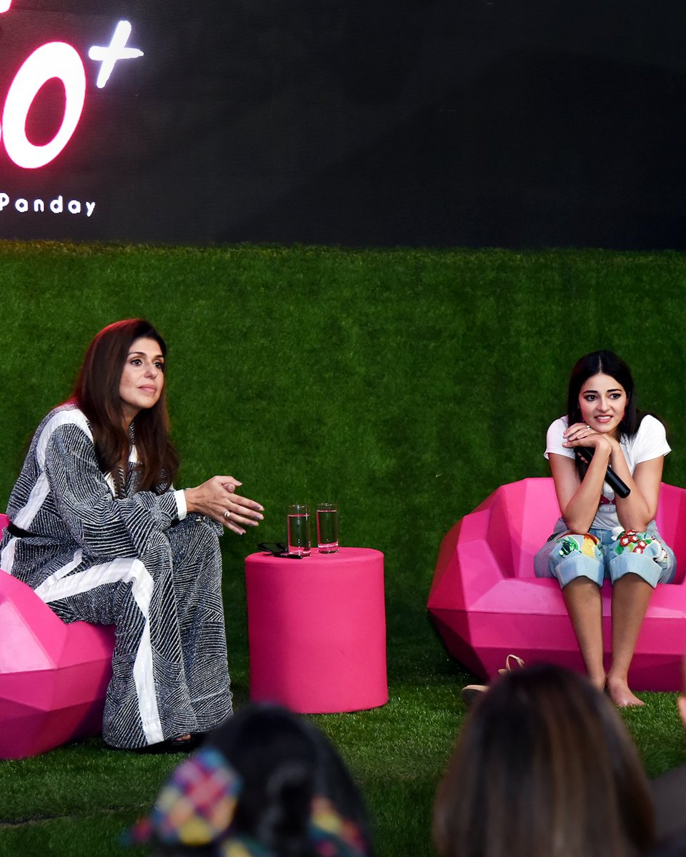 From making positivity a priority, tackling cyber-bullying to empowering feminism, @ananyapandayy, the face of Lakmé, spoke her mind at 'SO+ by Ananya Panday' with @Anaita_Adajania  @SoPositiveDSR #LakmeFashionWeek #LFWSR20 #LFW #5DaysOfFashion #20YearsOfLFW #BetterIn3D