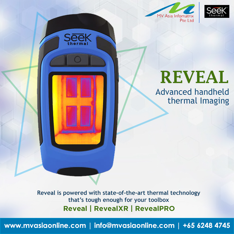 MVASIA introducing Seek Thermal High resolution cameras from Reveal Series  REVEAL :Advanced hand held thermal Imaging  For more information, contact us: http://www.mvasiaonline.com   |  info@mvasiaonline.com  |  Call us: +65 6248 4745  #MVASIA #SeekThermal #reveal #Singaporepic.twitter.com/AeffGEOeln