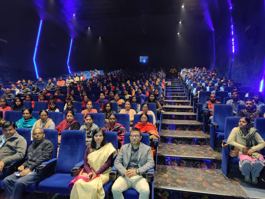 Dangal screening #Purnea250 #PurainiyaMahotsava 🙏🙏🙏 @VishekC @girindranath @rahulias6