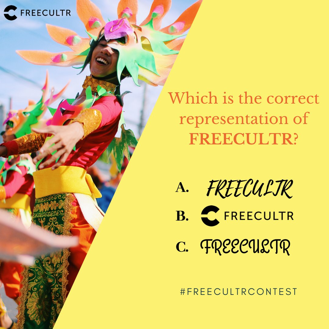 Second Question of #FREECULTRCONTEST Contest is live now!  Comment your answer with #FREECULTR & #FREECULTRCONTEST.  Like, Share, Comment & Invite your friends to increase your chances of winning.  #ContestLiveNow #Contest #freecultr #PaytmCash #like #Share #Comment #Invite