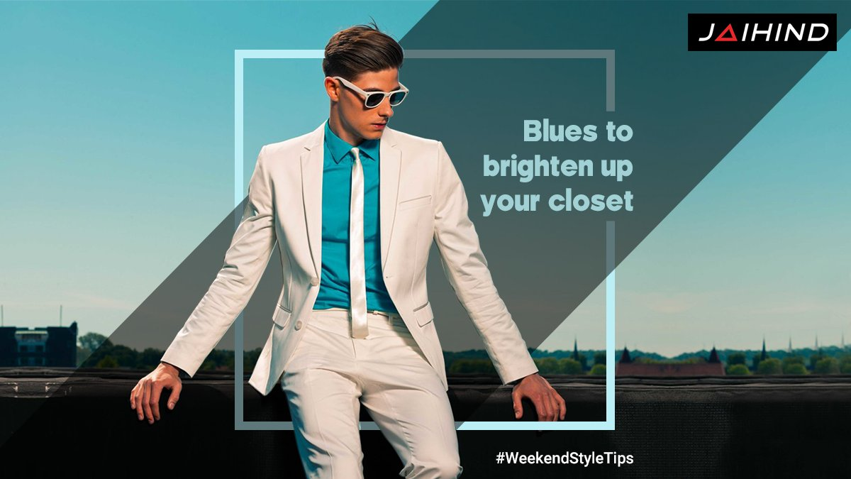 Weekend is always a good time to relax and unwind after a long hectic week at work. Bright colour clothes are a welcome change after spending the week in dark colours.  #Jaihind #FashionQuote #MensFashion #MensStyle #FashionForMen #MenCollection #IndianFashion #InstaFashionpic.twitter.com/IiHVFng0v4