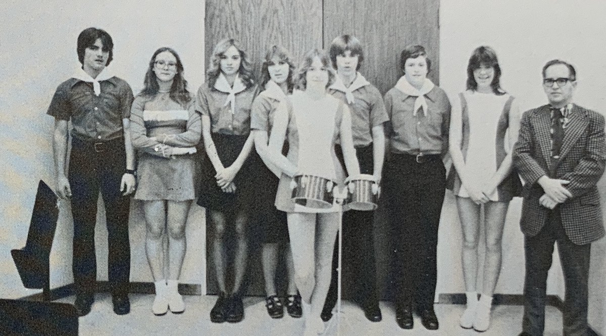 This week's Throwback Thursday visits the @RidgewoodMS bands from the 1978-1979 school year. #TBT #FoxC6Strong