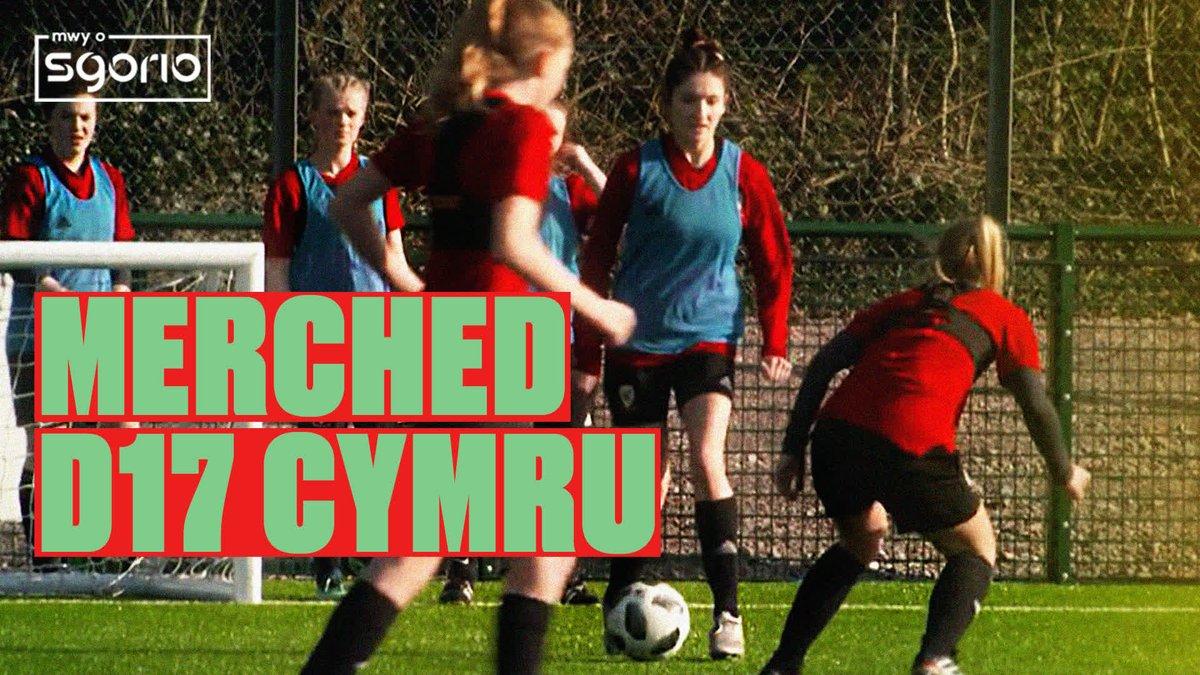 🏴 Dreneweydd. Ffostrasol. Llantwit Fardre. Chwaraewyr o ledled Cymru! Some of the WU17s squad give their first interviews ahead of next month's #WU17EURO Elite Round 🙌 #BeFootball   #TogetherStronger