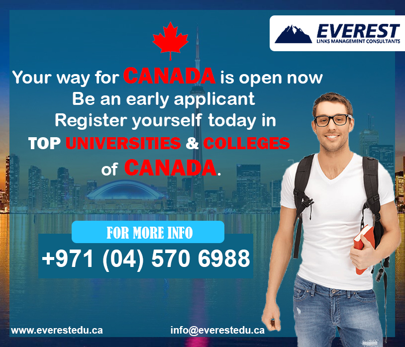 What are you waiting for? Enroll now for September 2020 intake. You can contact @everestedu_dxb  for more info (04) 570 6988 or you can visit us at 216 The Binary Tower, Business Bay, Dubai, United Arab Emirates.  #StudyVisa #AbroadStudy #Canada #StudyinCanada #Dubai #UAEpic.twitter.com/frS0yr9qOs