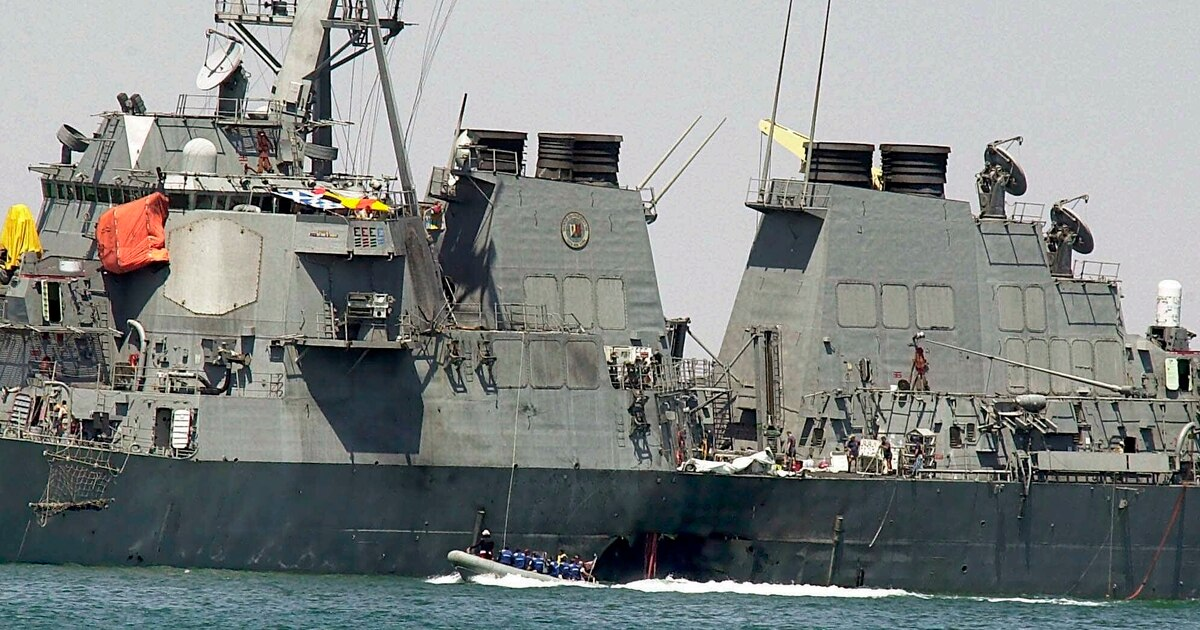 @MilitaryTimes's photo on USS Cole