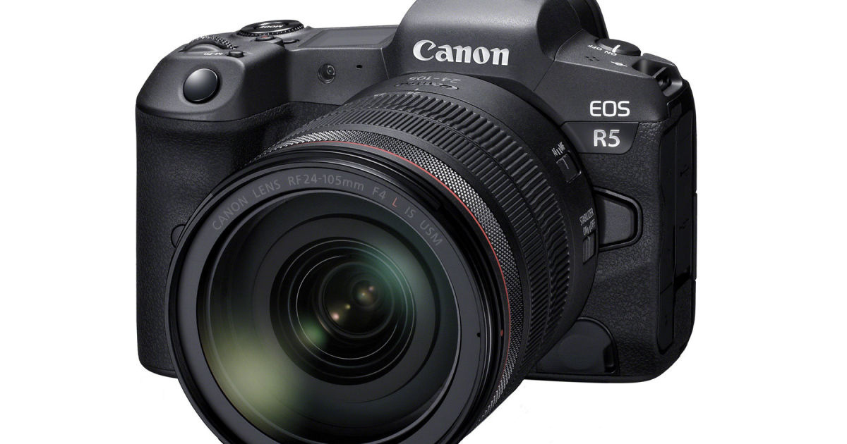 Canon's powerhouse EOS R5 will be its first mirrorless camera with 8K video