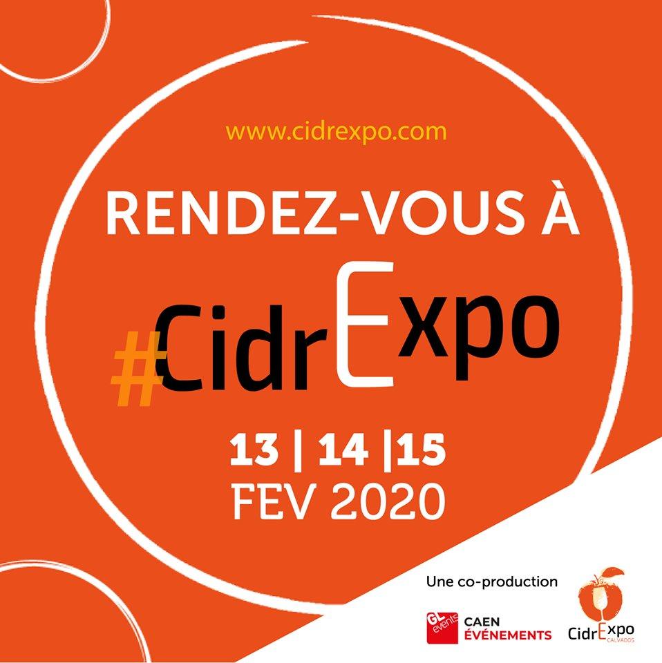 [ CIDREXPO ] 🍎🍏  Dans quelques minutes, #Cidrexpo ouvrira ses portes ! On a hâte de vous voir !!! 🙂   #cidrexpo #jeudi #cidre #calvados #caen #gastronomie #terroir https://t.co/vg8S4ngSuN