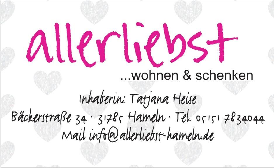 Allerliebst - dein Partner für wohnen & schenken - http://bit.ly/2uvIZqV #neuewoche #hameln #Gewinnspiel, Lokal Kaufen, Nachrichten Hamelnpic.twitter.com/QNVPru9CJs