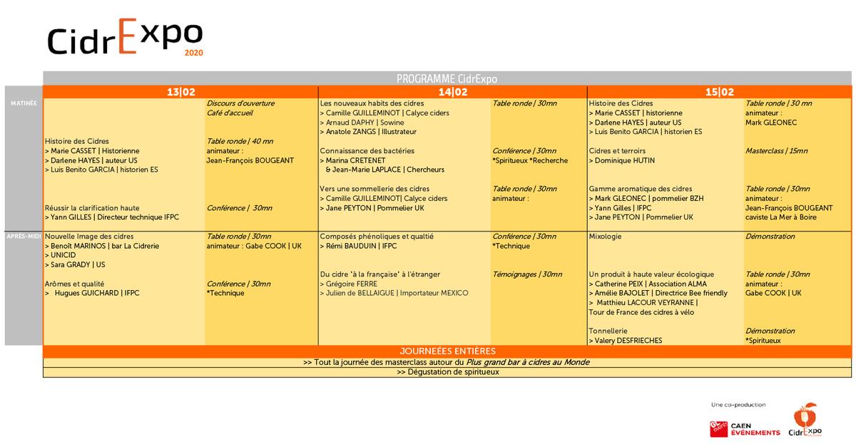 [ CIDREXPO - Tables rondes / Conférences ] 🍎🍏  Retrouvez le programme des tables rondes et conférences.   ▶️ https://t.co/04yHheYkUd  #cidrexpo #cidre #parcexpo #caen #pomme #conférence #tableronde #salon #international https://t.co/iC8xNcqL8v