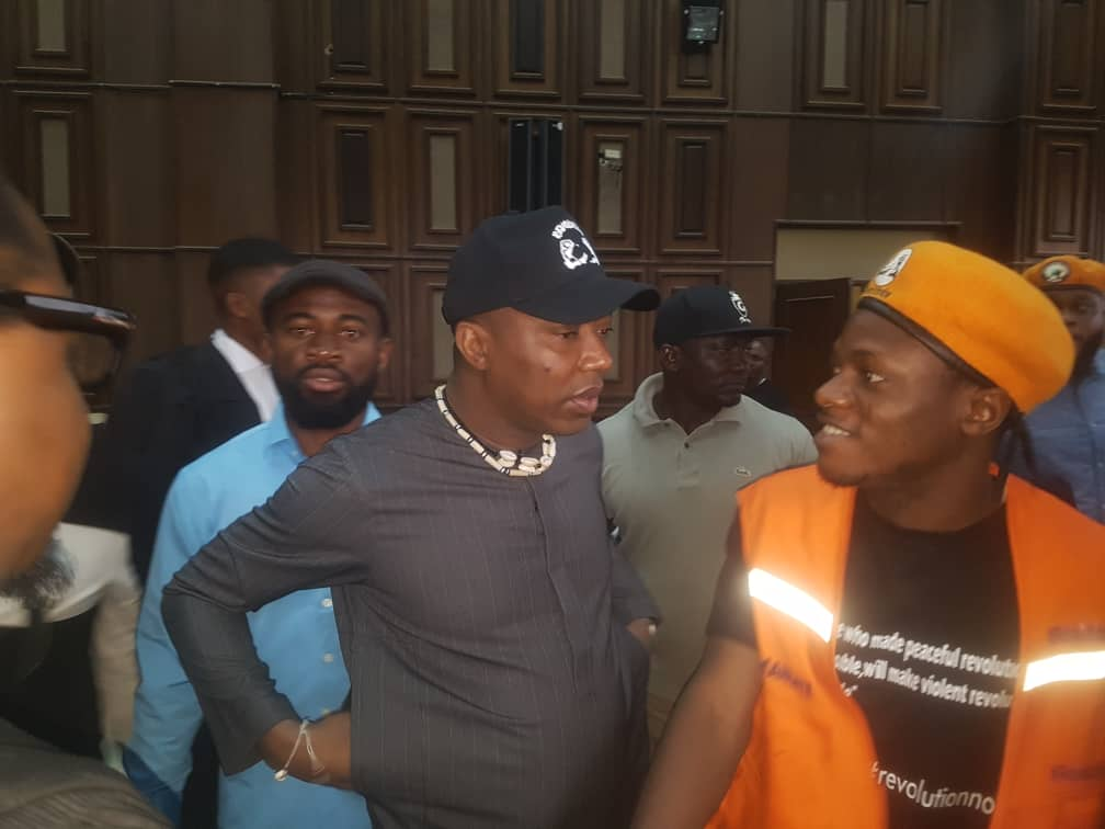 BREAKING: Court Adjourns @YeleSowore's Trial Until March Over Lack Of Video Evidence By Prosecution | Sahara Reporters  Earlier Justice Ojukwu had struck out the previous seven-count charge filed against them after... #SoworevsFG #FreeSoworeNow READ MORE: http://bit.ly/31Qk1hX pic.twitter.com/tNWJk2hsOG