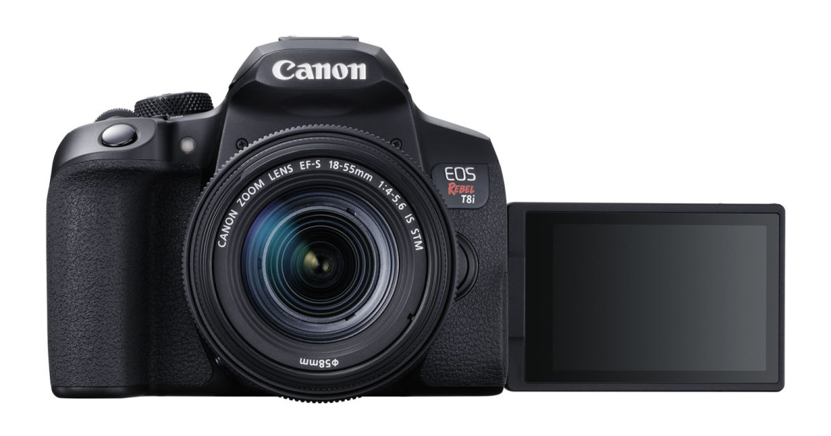 Canon's EOS Rebel T8i reaffirms its commitment to DSLRs