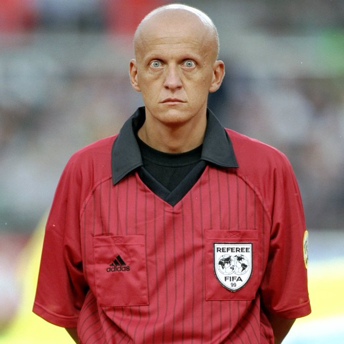 Happy 60th birthday to Pierluigi Collina The scariest referee of all time