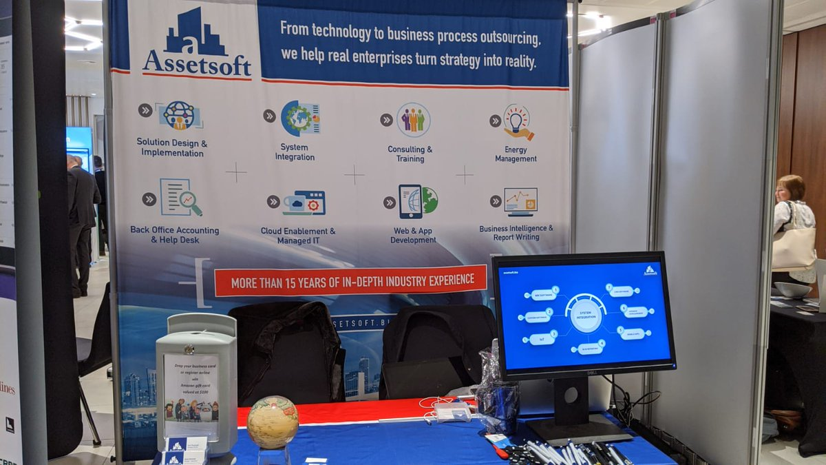 The only thing missing is you! So visit us at booth 18 at MRI Ascend in London and let's connect over your needs, our expertise and may be a giveaway#Assetsoft #MRISoftware #MRIAscend20 #proptech #propertymanagment pic.twitter.com/g4ZUjyO7rk