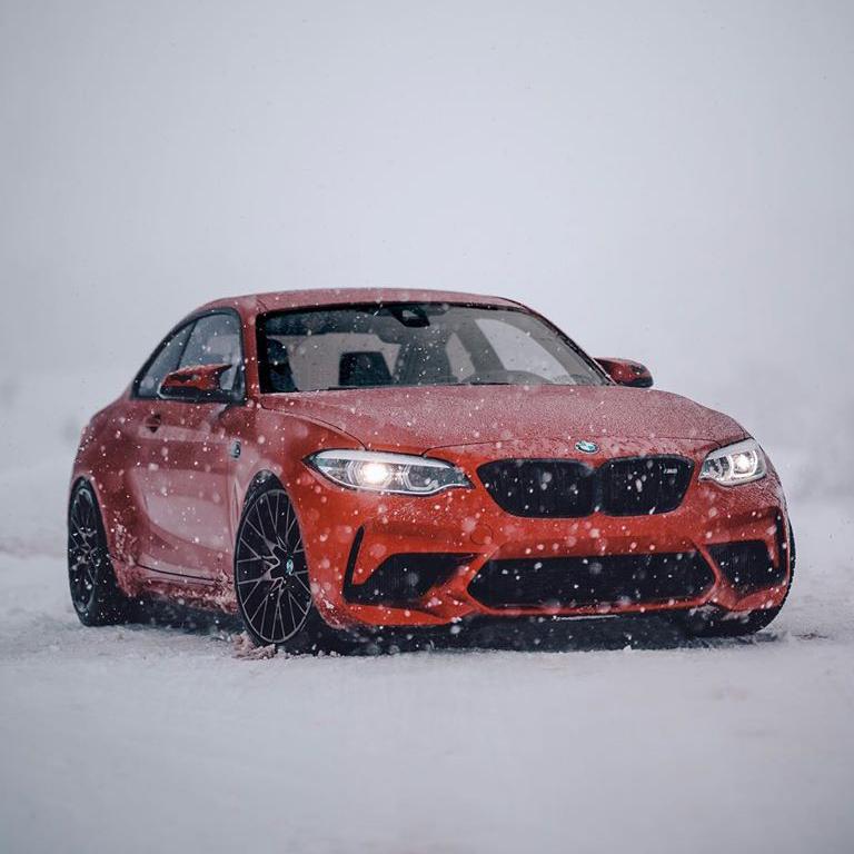 El típico paisaje invernal con su BMW M2 Competition, incluido. ;) ;) #TheM2 📷 de http://mpn.photography via instagram