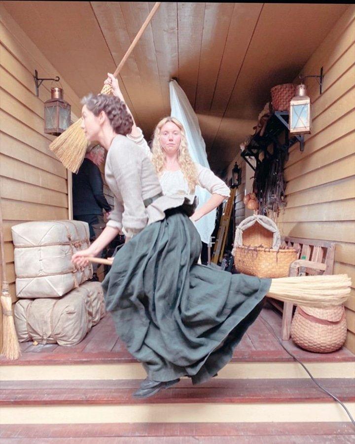 As bruxas de 1770 💜  #StoriesCesar #outlanderstarz #outlanderbrasil #OutlanderS5 #Outlander #fersali #CaitrionaBalfe #laurenlyle
