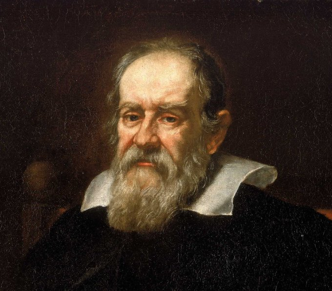 13 Feb 1633: Galileo Galilei #astronomer arrives in #Rome #otd to stand trial with the Inquisition