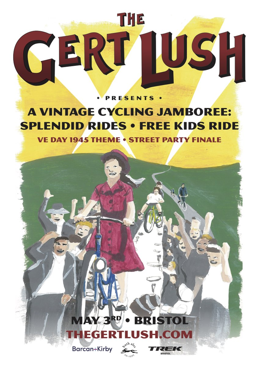 test Twitter Media - The Gert Lush vintage bike festival and one of the UK's premier retro road rides returns to Bristol on Sunday 3 May 2020. Find out more: https://t.co/nGNdYqz9Qz @TheGertLushBike @SustransSW #gertlush #cycling #bristol https://t.co/rBYvaPJBEp