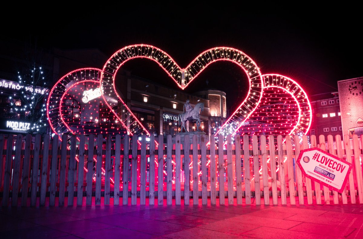 Love is in the air @CovCityCentre #LoveCov
