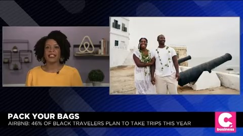"""We have absolutely reached the age of Black travel."" Director of Global Editorial @cassblackSF discusses trends in travel and @Airbnb's partnership with the @NAACP to encourage more Black Airbnb hosts. #CheddarLive"