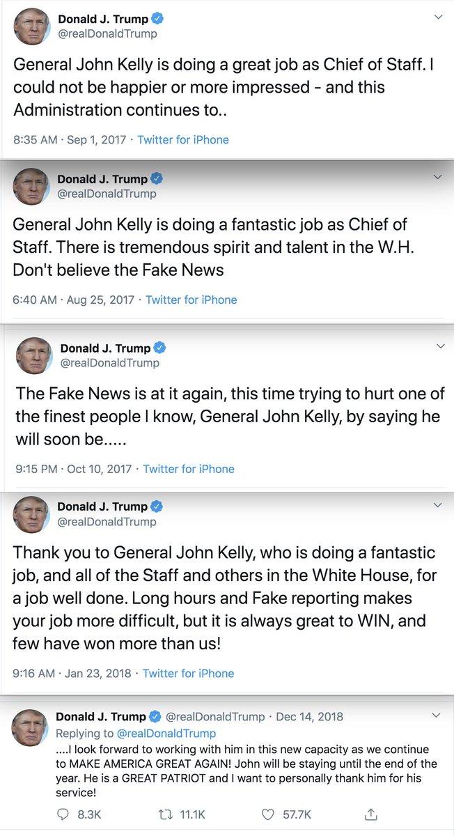 >@realDonaldTrump on Kelly: