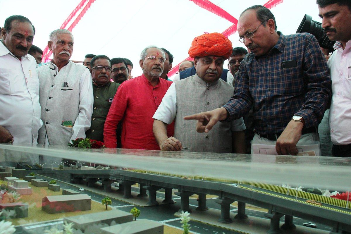 Bhoomi Pujan performed for Rs. 27 crore flyover on Chanasma – Deesa State highway