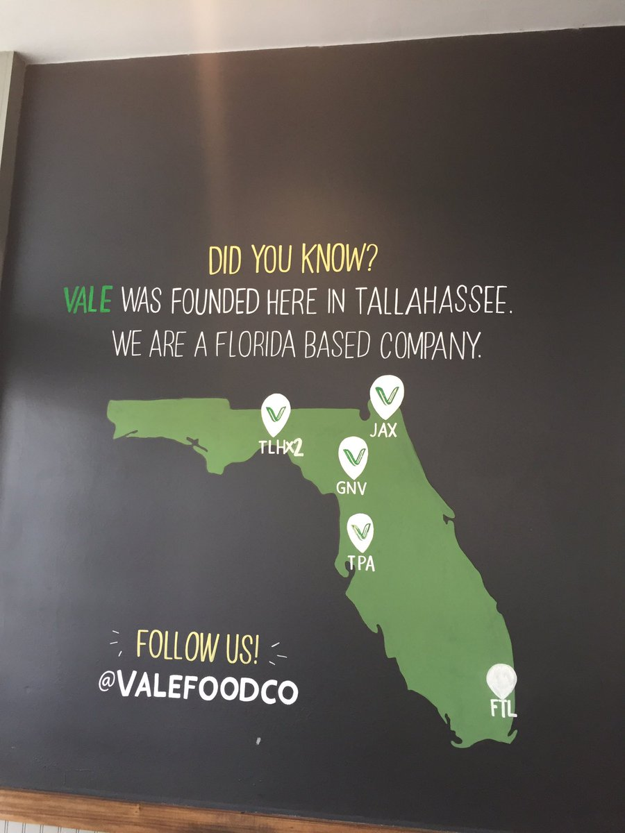 We did know, but now you do too! @ValeFoodCo @FSUCollegeTown