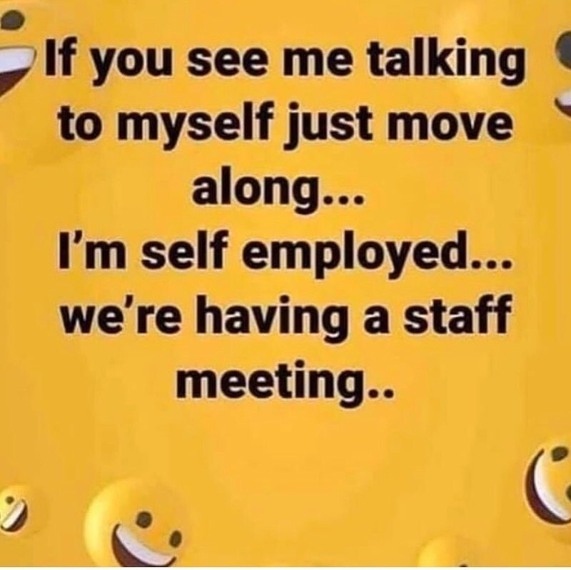 Sometimes you have to work things out amongst yourself. LOL #LaughterIsGoodForTheSoul #MeMyselfAndI #DreamBiggerLiveBetter #HoldOnToHope #NeverGiveUpOnYou #IntellectlyMepic.twitter.com/oPhotENy8b