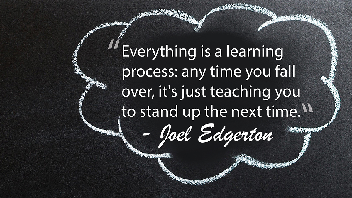 Life is a learning process and perseverance is key. #ThursdayThoughts #education #school #teachers