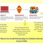 Image for the Tweet beginning: Curious about Tax Credit Scholarships?