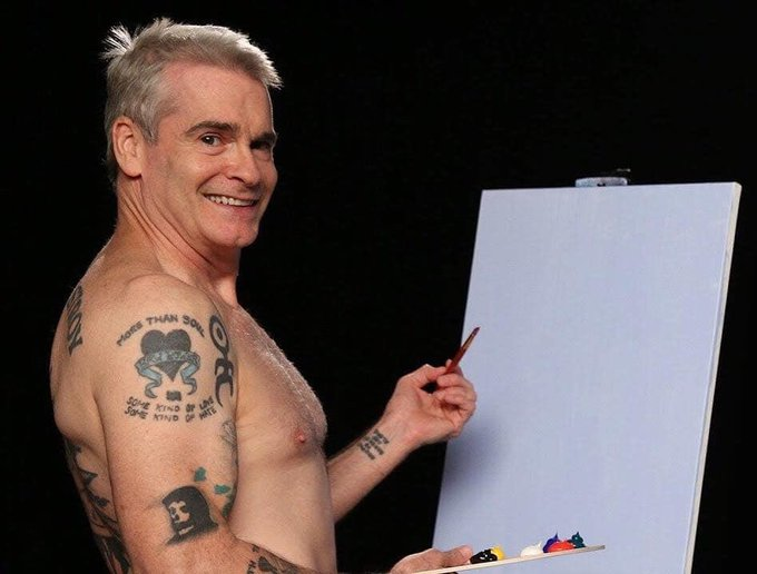 Happy 59th birthday Henry Rollins!! Still one of my favorites, only gets better with age!